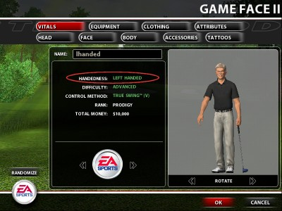 Tiger Woods Manual